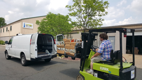 mailing-van